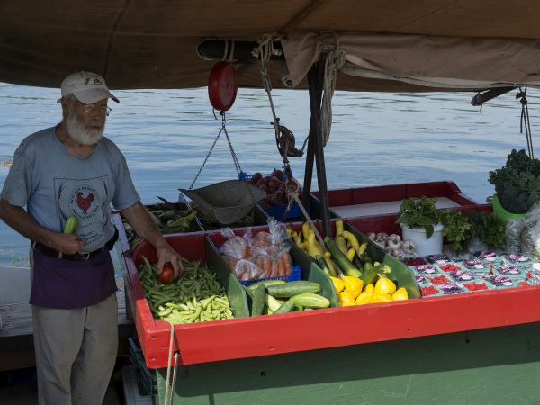 Merrymeeting Farm Market Boat