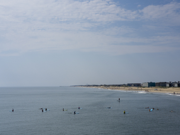 View from Jennette's Pier