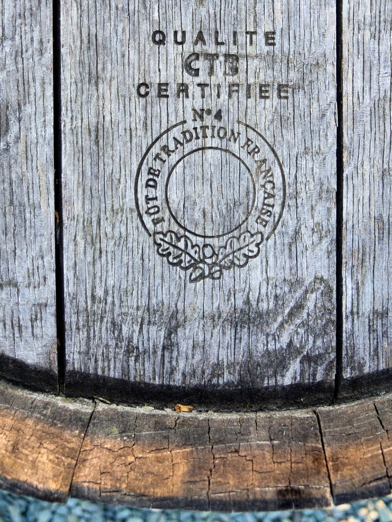 Wine barrel detail
