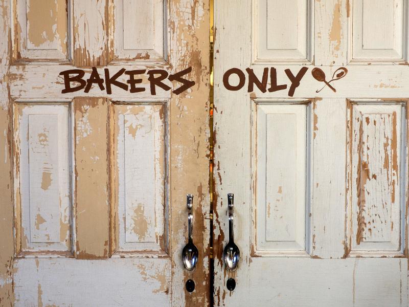 Kitchen door, Sweethaus