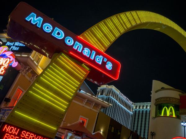 Mcdonald's, Las Vegas