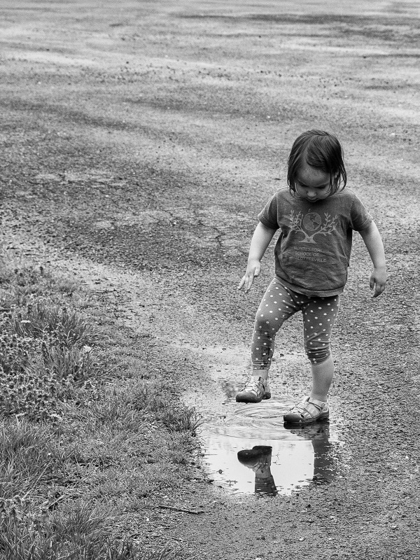 The lure of the puddle