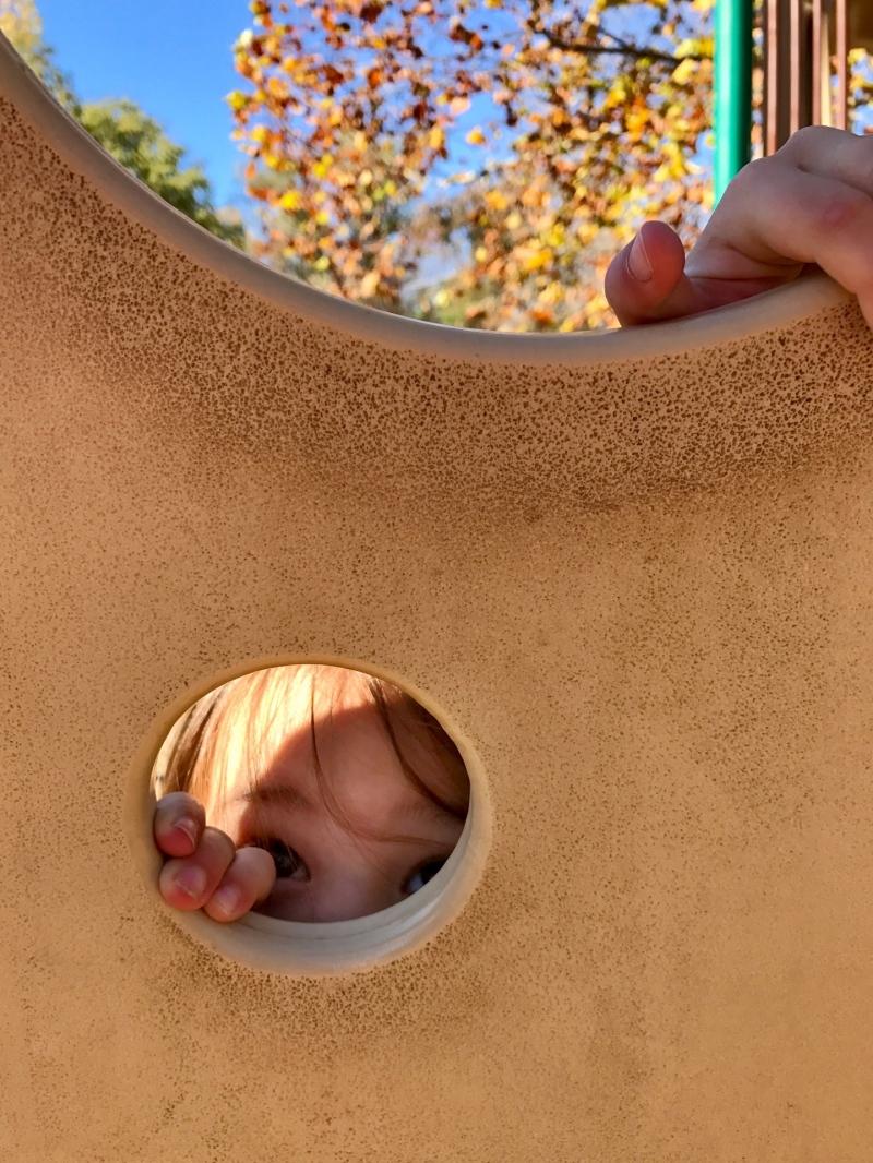 Climb and peek