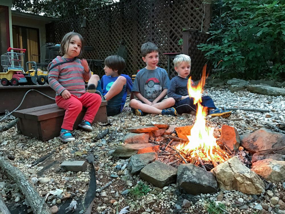 Little campfire