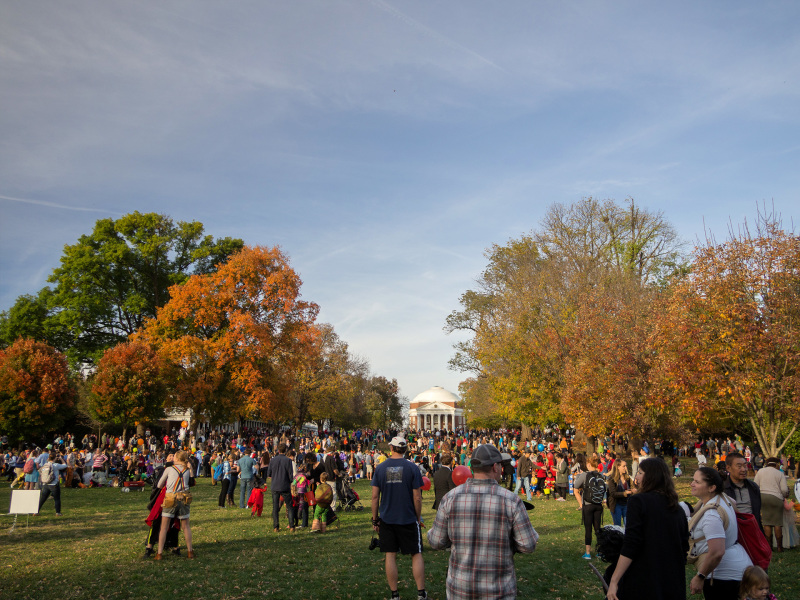 Halloween on The Lawn