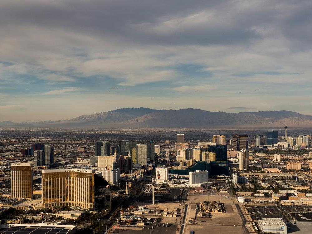 Vegas Strip from the air