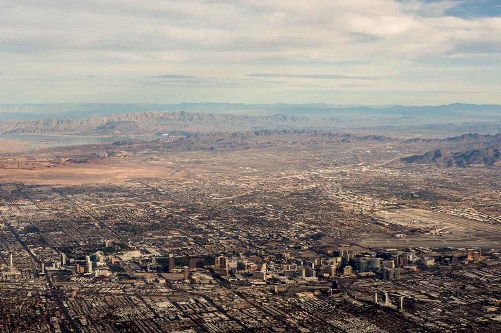 Las Vegas Strip and environs