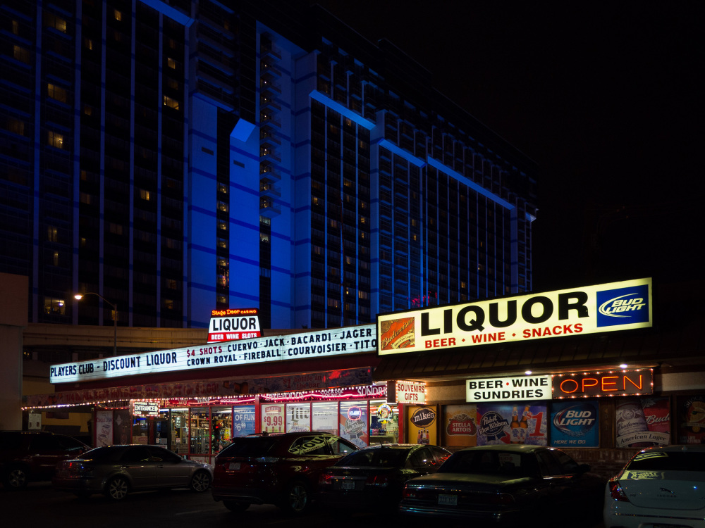 Liquor store, Flamingo Blvd