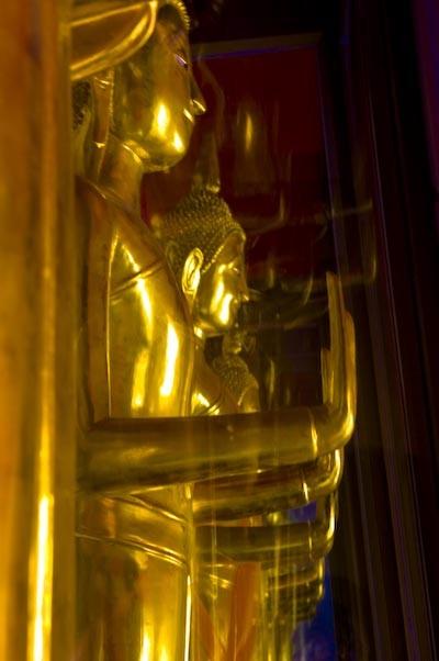 reaching for buddha