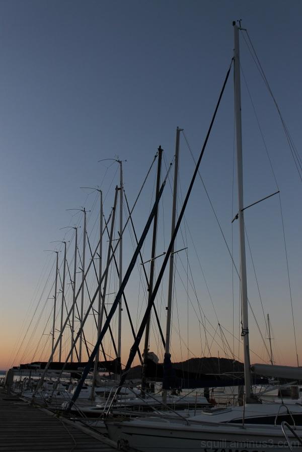 sailing on Balaton