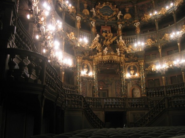 Wooden theatre in Bayreuth