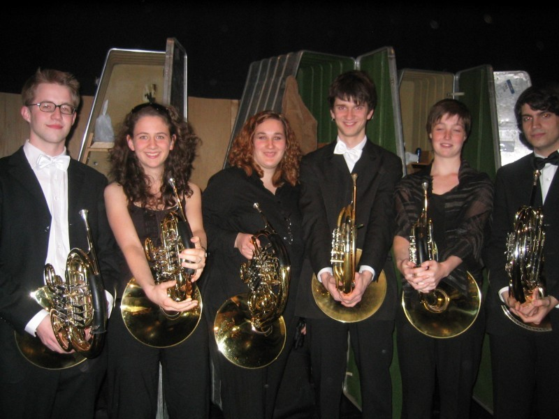 Hornplayers of IJOA 2007