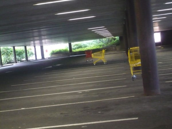 world's most lonesome mall