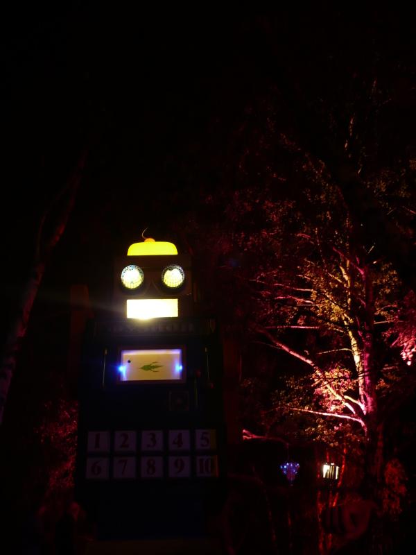 like a robot