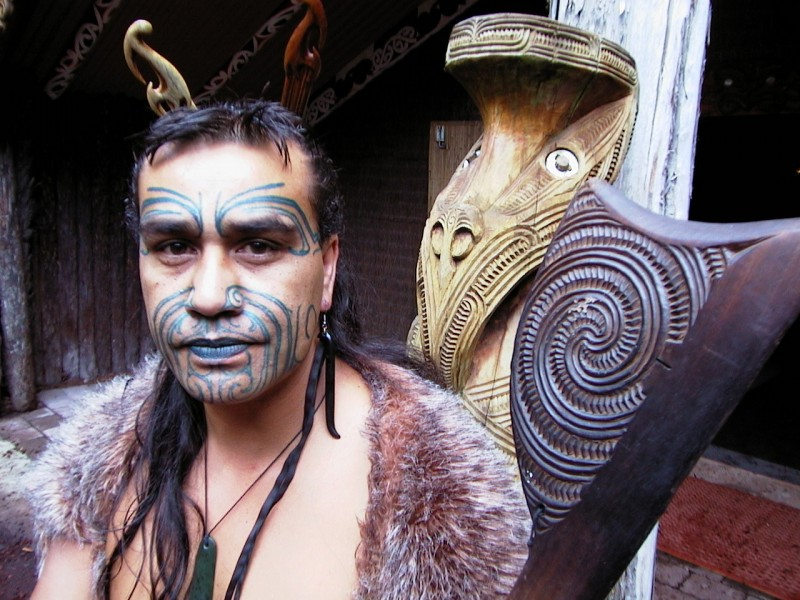 Maori 1 - warrior