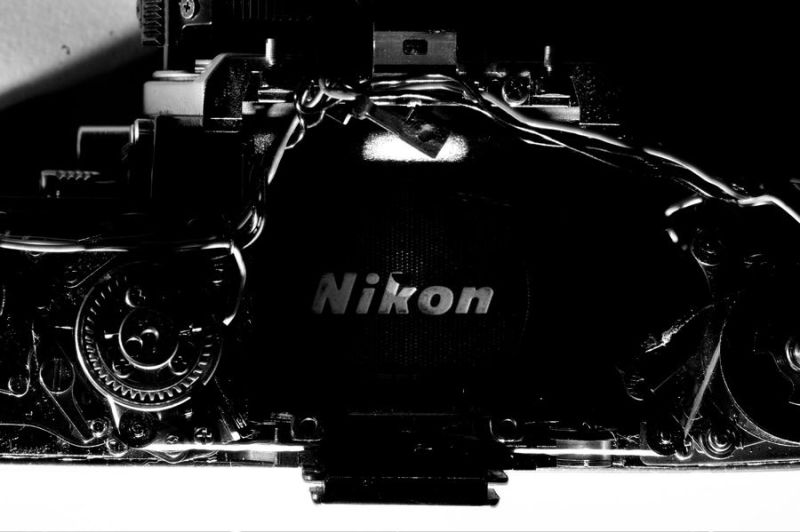 'Nikon', At the heart of the image!