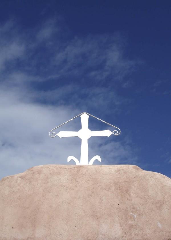 Cross from Penasco cemetery