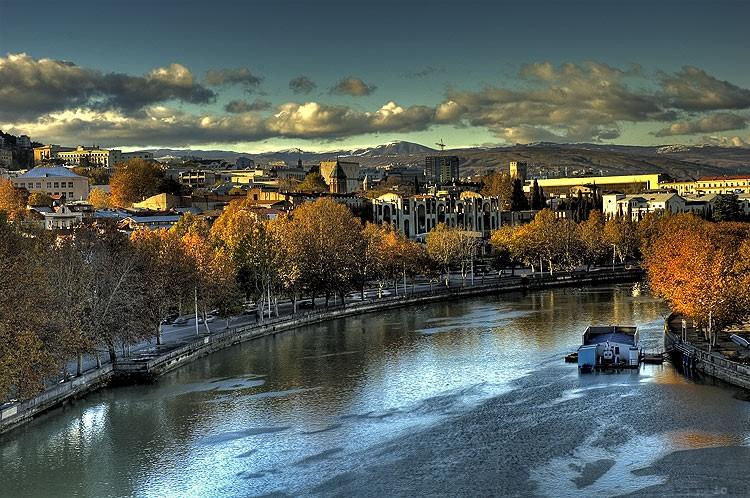 river mtkvari tbilisi