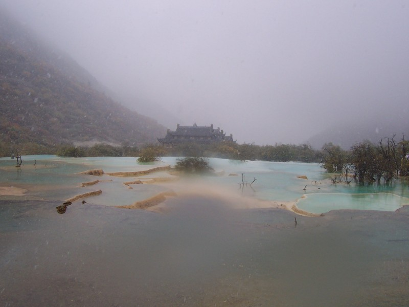 Another picture at Huanglong