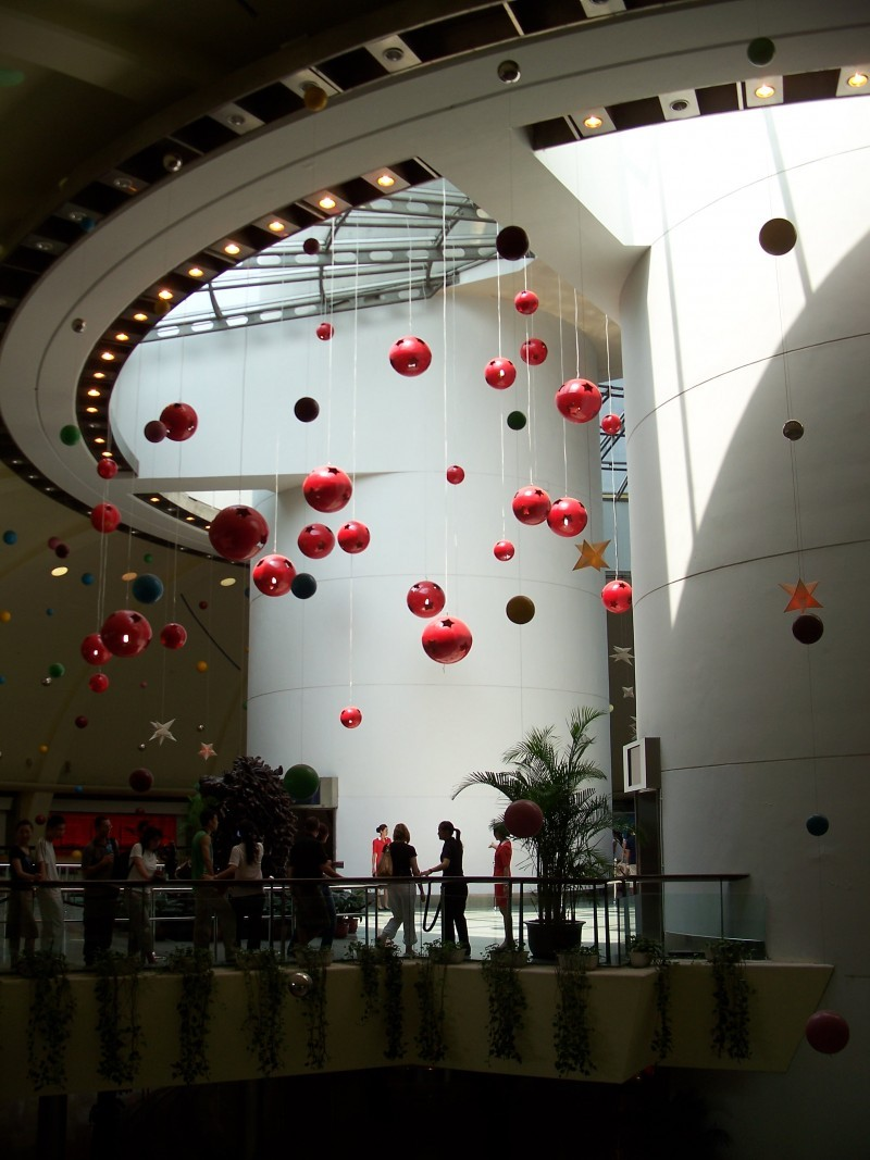 Inside the Pearl Tower