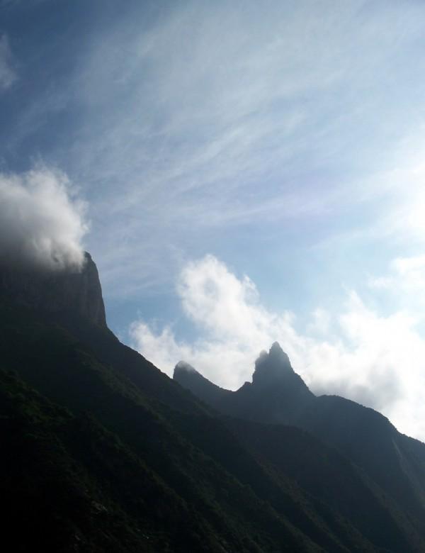 Mountains along the Yangzi