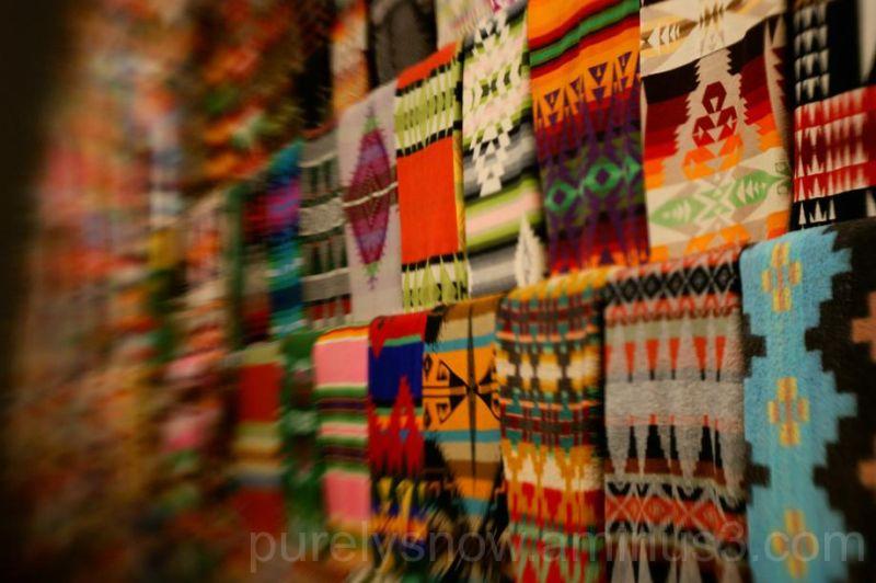 Blankets at Tacoma Art Museum