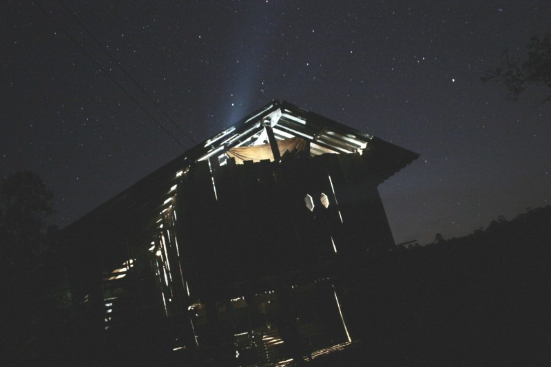 Hut at Night
