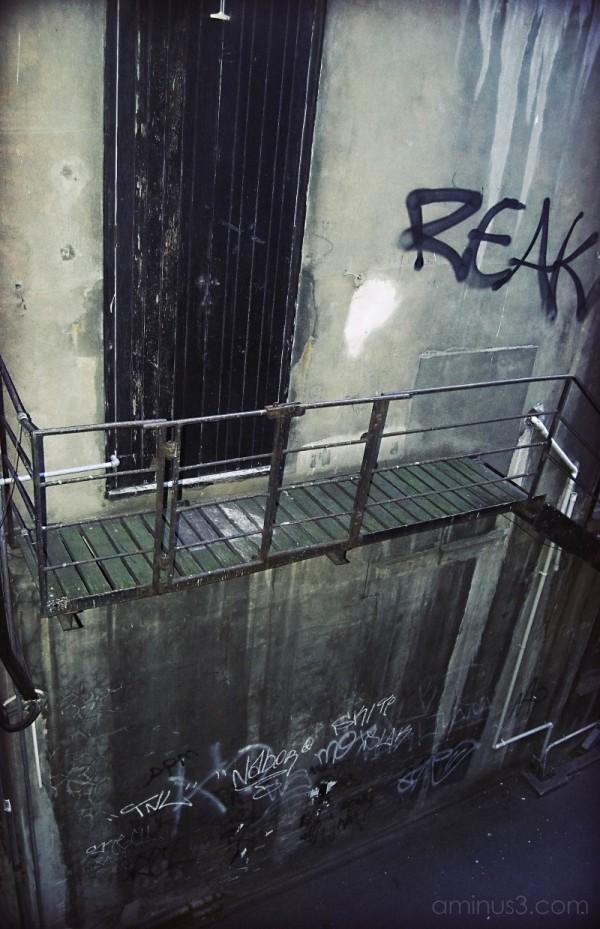 Alley grunge