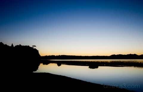Dawn at Lake Mahinapua