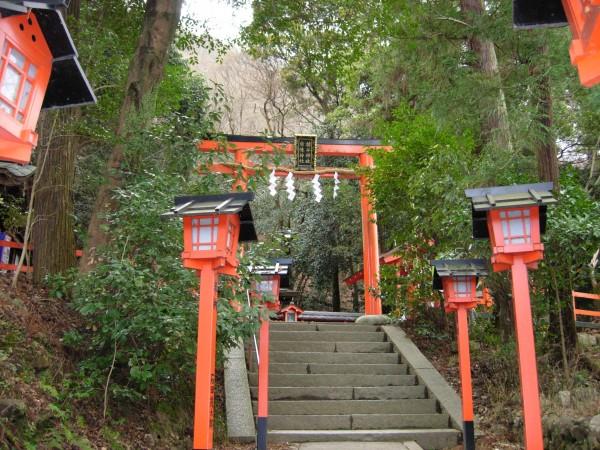 Shrine on the way up to Monkey Mountain