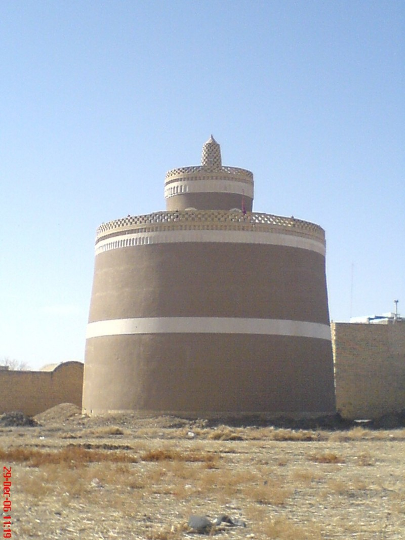 A Pigeon Tower In Isfahan, Iran