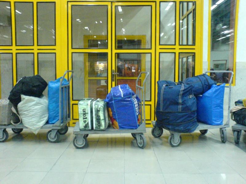 Passengers' Loggage!