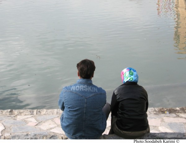 A Couple Beside the River!