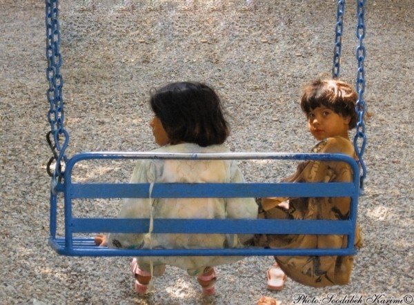 Afghan Children in Park