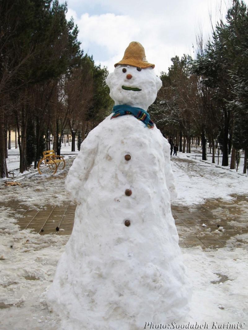 Snowy Family(3)#Snow Daddy