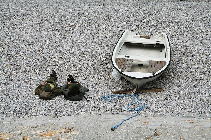 Two and a boat