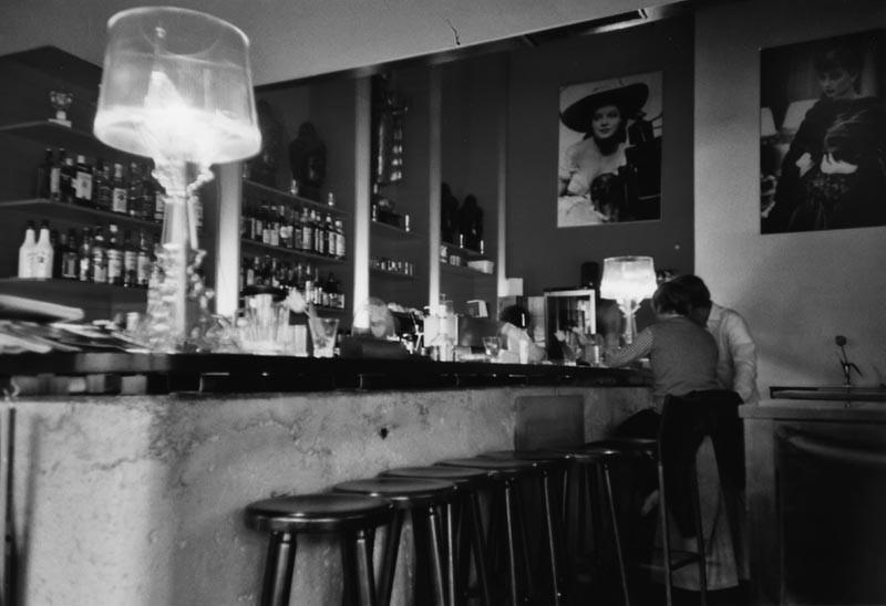 Audrey Hepburn in a Café [2]