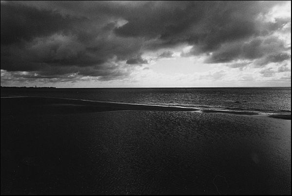 During a short storm // Ostsee