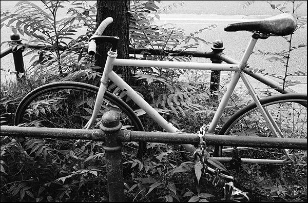 Bike without breaks.