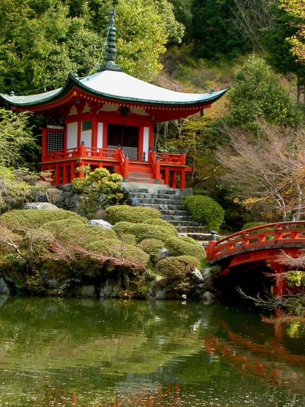 Teahouse at Daigo-ji