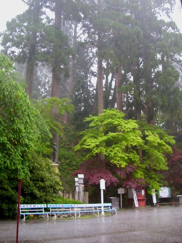 Downpour on Mt. Hiei