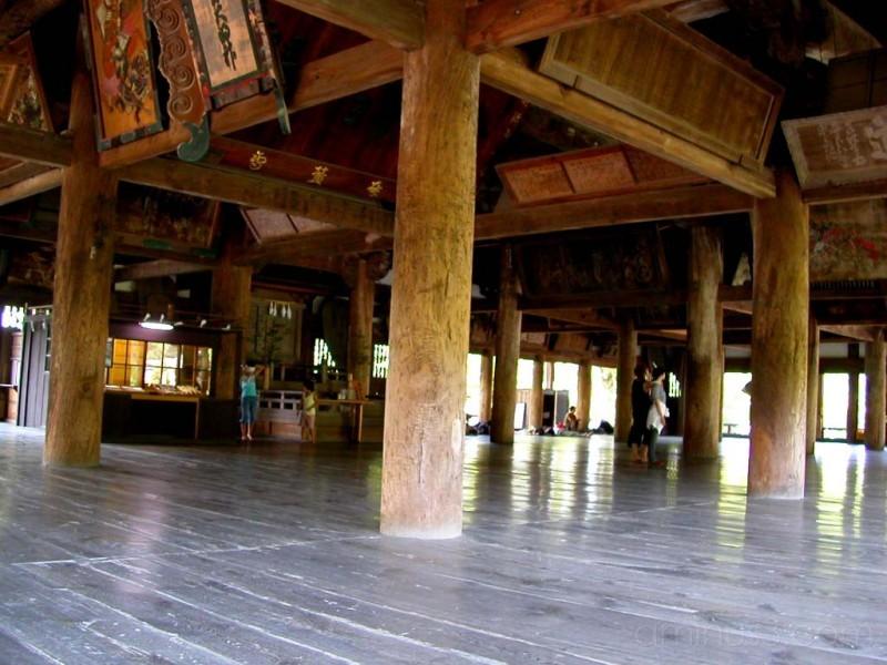 Hall of 1000 Samurai at Miyajima