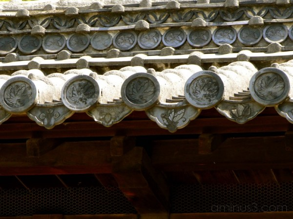 Himeji Castle tiles