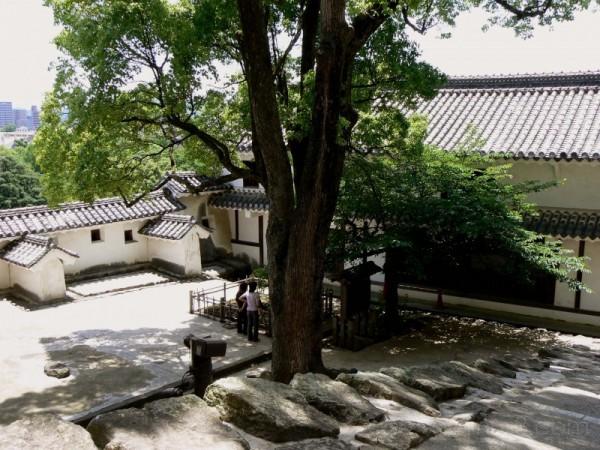 Courtyard Himeji Castle