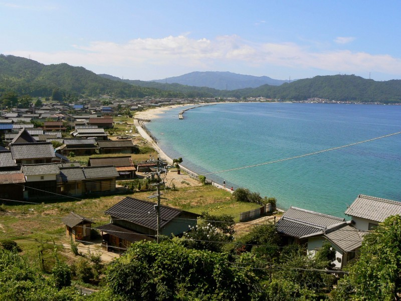 Seaside village near Miyazu