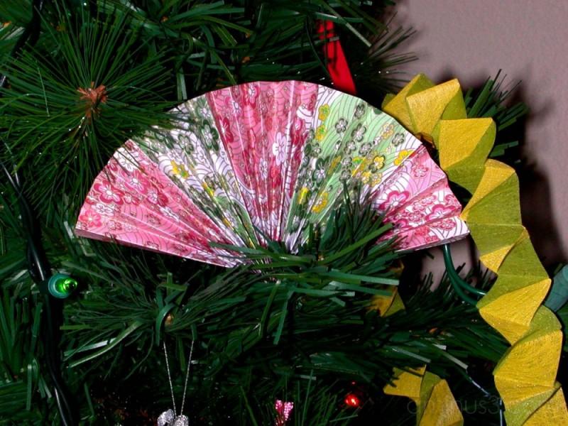 Fan decoration