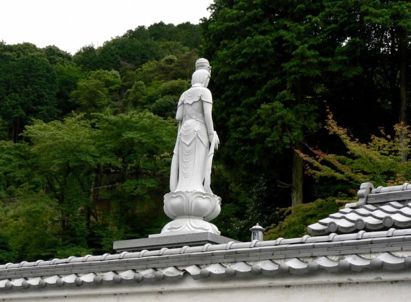 Statue in a graveyard
