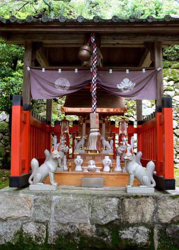Inari shrine laterns