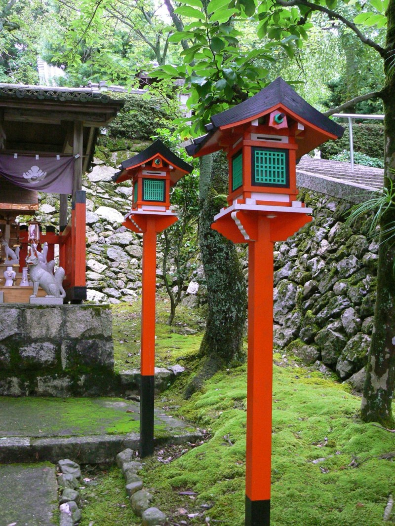Fox shrine lanterns