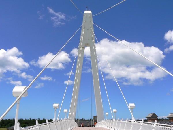 View of the bridge at Dan Shui